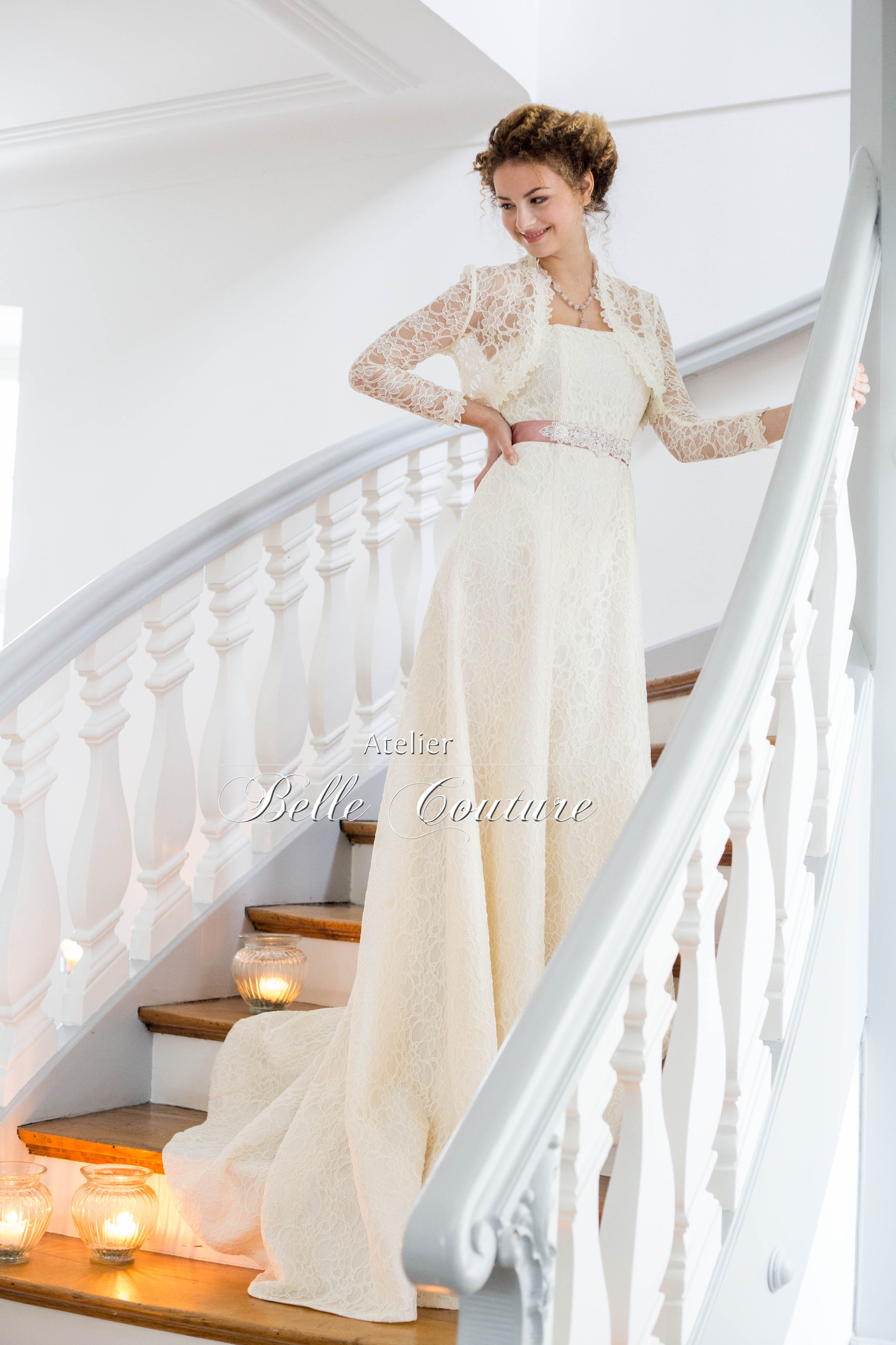 Atelier Belle Couture | Vintage Shabby-Chic Brautkleid