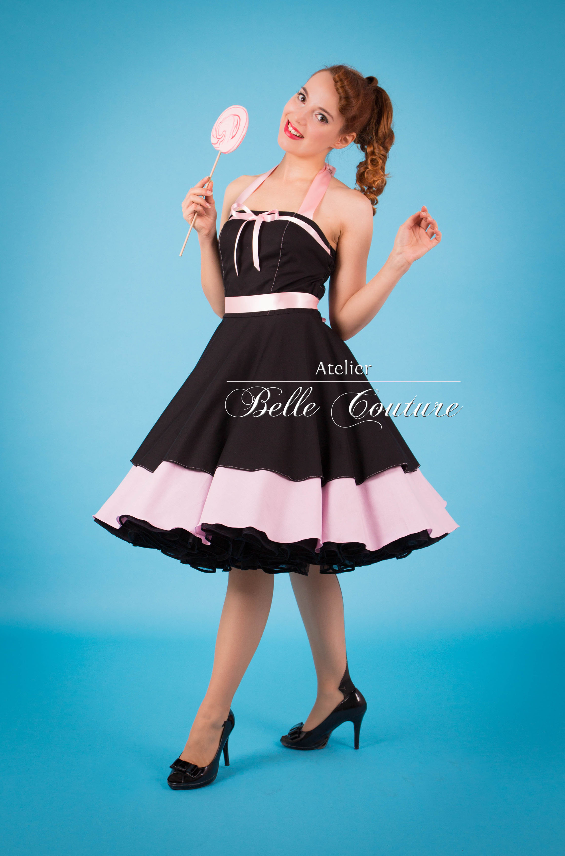 Rockabilly kleid winter