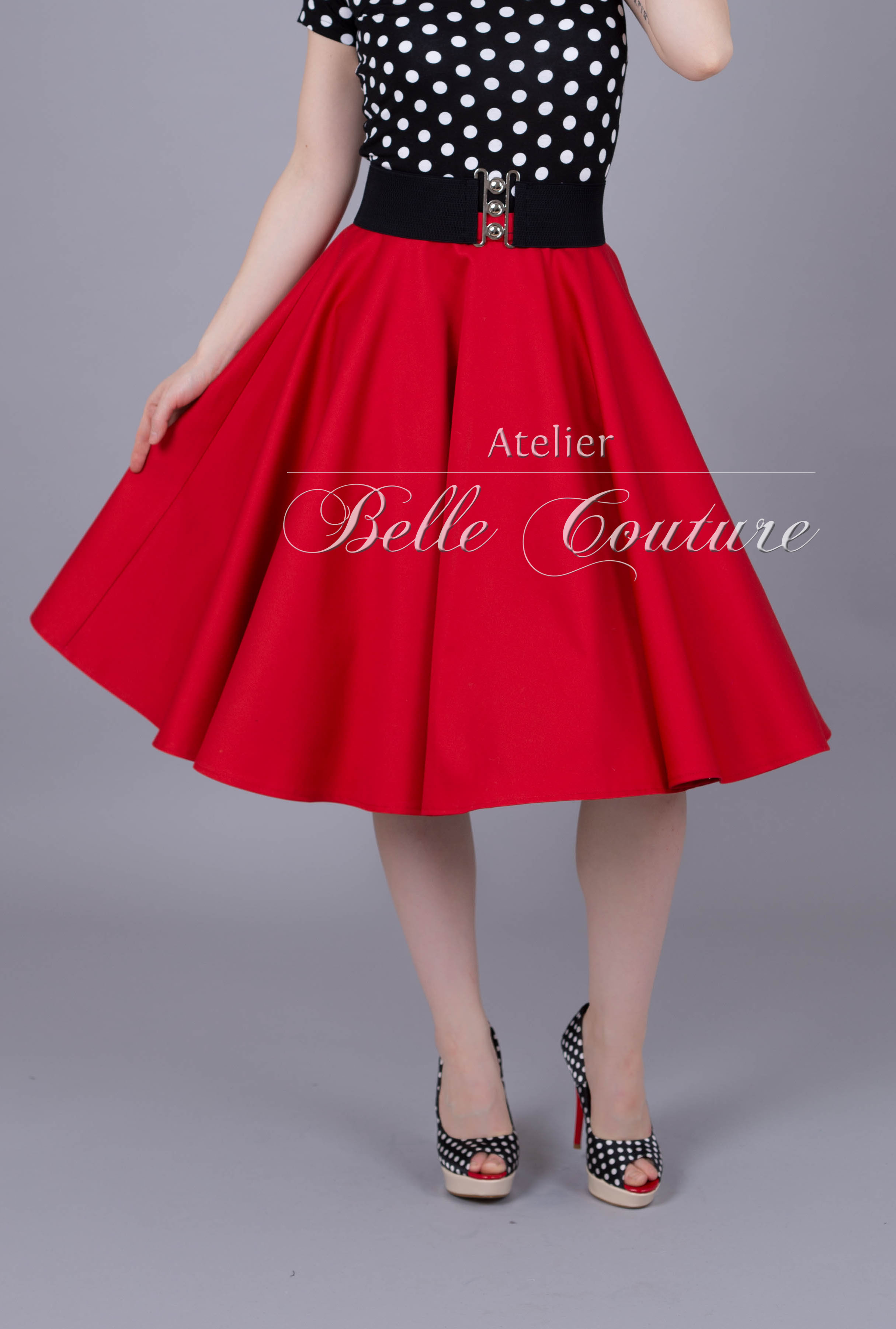 7cfe299712a7ae Atelier Belle Couture | 50er jahre Tellerrock